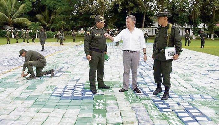Golpe contundente al Clan del Golfo: le incautan 12 toneladas de cocaína