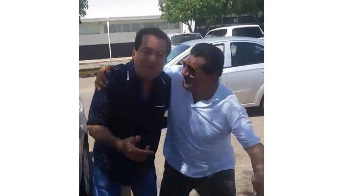 Encuentro entre poncho Zuleta y Jorge Oñate luego de dar versiones contradictorias sobre el Reggaetón