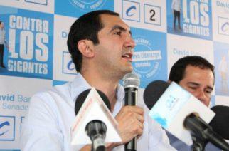 David Barguil presentó su candidatura al Senado en Montería
