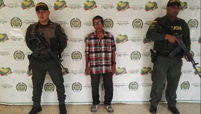Capturan a un adulto mayor por el delito de actos sexuales con menor de 9 años, en Tierralta