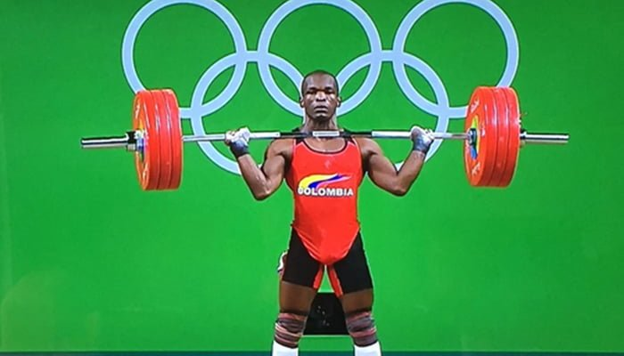 Asesinado pesista olímpico Edwin Mosquera