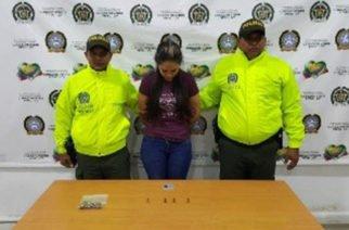 Una persona capturada por tráfico de estupefacientes y arma de fuego