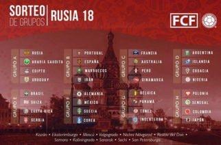 Así quedaron los grupos oficiales para Rusia 2018, Colombia está en el grupo H