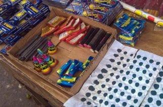 Policía incauta 17 kilos de pólvora en Buenavista