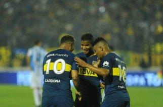 Cardona, Barrios y Fabra regresaron a entrenamientos con Boca Juniors
