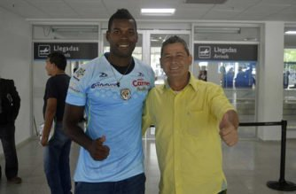 Danilson Córdoba ya está en Montería para vincularse a Jaguares
