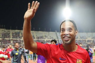 ¡Oficial! Ronaldinho se retira del fútbol
