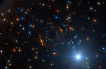 Fue detectado un agujero negro 'invisible' a 16.000 años luz de la Tierra