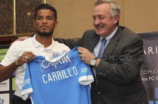 Cesar Carrillo fue presentado oficialmente como refuerzo 'embajador'