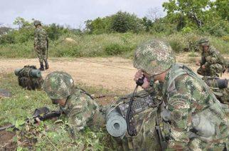 Cuatro abatidos y 3 capturados en operativos contra el Clan del Golfo en Córdoba