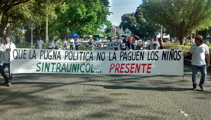 Protestas por cierre del gimnasio unicor diario la piragua for Gimnasio por horas