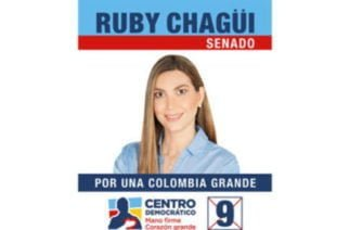 "Ruby Chagüi: ""Quiero ser la mejor Senadora de Córdoba y la mejor Senadora de Colombia"""