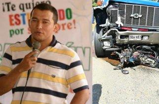 En Sahagún, Muere docente en accidente tránsito en la troncal de occidente