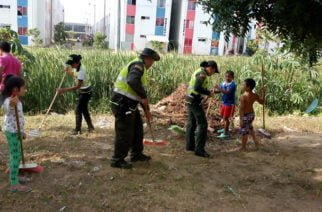 Policía Ambiental y Ecológica realizó jornada de prevención y educación ambiental