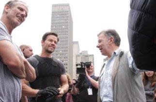 """""""Filmación de películas extranjeras en el país genera empleo y atrae inversión"""": Presidente Santos"""