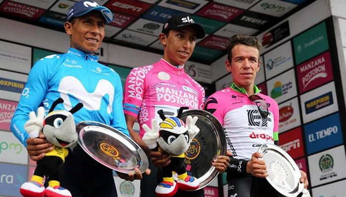 Egan Bernal se coronó campeón de la carrera Oro y Paz