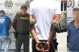 Tres personas capturadas por homicidio en Córdoba