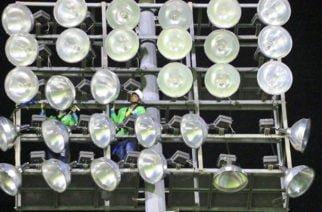 Se completa la primera fase de las luminarias del estadio Jaraguay de Montería