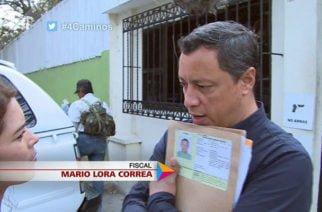 """""""Si alguno de mis familiares nos pasa algo el responsable es Mario Lora"""": Hermes Suárez, hermano de víctima caso Fiscal Lora"""