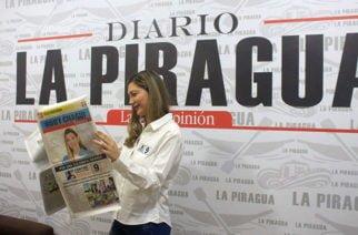 Diario La Piragua le desea un ¡Feliz Cumpleaños! A la senadora cordobesa Ruby Chagüi