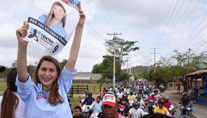 Multitudinario apoyo de los mototrabajadores a Ruby Chagüi