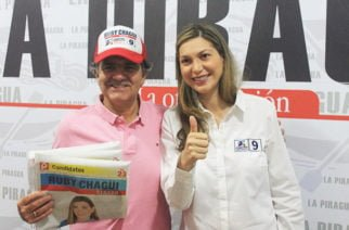 Óscar Iván Zuluaga respalda a la candidata al senado Ruby Chagüi