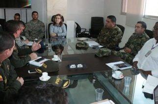 En Montería se realizó segundo comité departamental de orden público