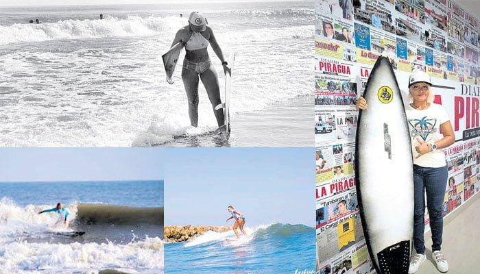 María Schroeder: Una luminaria del Surf Cordobés