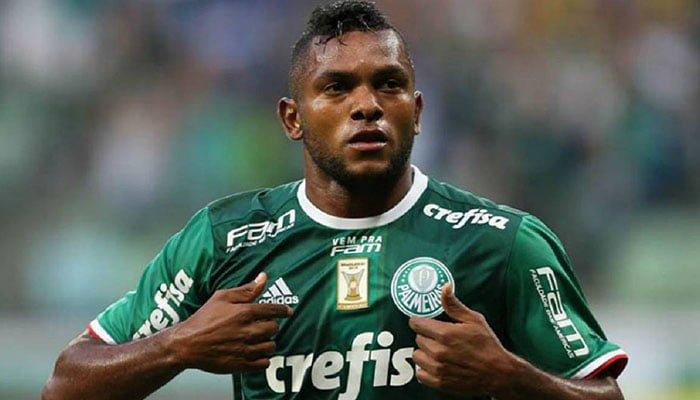 Jugador cordobés anotó un nuevo gol con Palmeiras y es goleador de Brasil