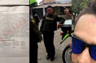 Video: Policía le pegó en la cara a ciudadano en Montería