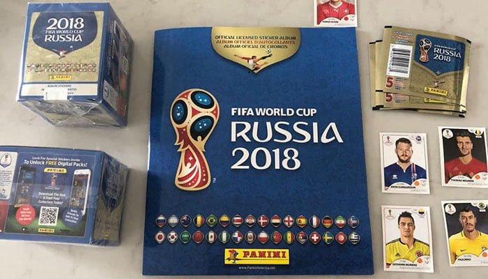 Los jugadores que estarán en el álbum Panini del Mundial de Rusia
