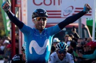 Español Alejandro Valverde nuevo líder de la Vuelta a Cataluña; Hodeg cedió terreno