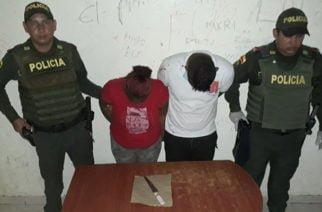 La policía en tiempo record capturó a presuntos asesinos de un joven en La Gloria
