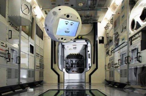 CIMON el primer asistente inteligente en viajar al espacio