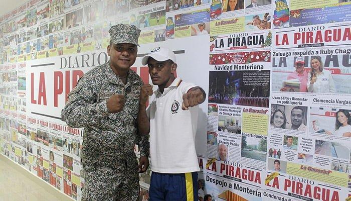 Militar cordobés Gabriel 'Cañita' Mendoza va por el título a Filipinas