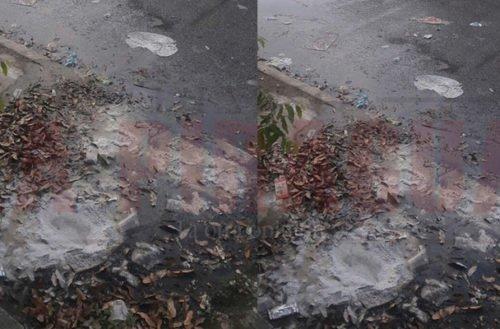 Rebosamiento de manjol genera problemas de insalubridad en el barrio La Pradera