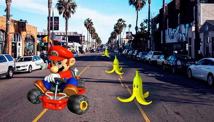 Mario Kart llega a Google Maps con su famoso fontanero