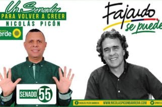 """Nicolás Picón: """"Si los Cordobeses consideran que necesitan un representante en el Senado, voten este 11 de Marzo por Nicolás Picón"""""""