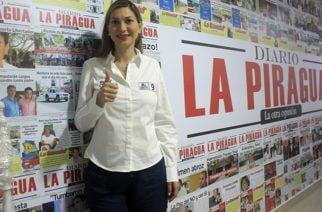 """""""Mi compromiso es trabajar duro por nuestro departamento"""": Ruby Chagui"""