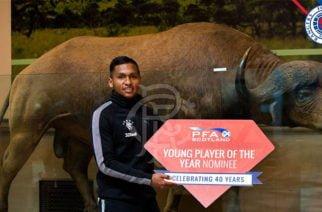 Cereteano es nominado al mejor jugador del año en Escocia