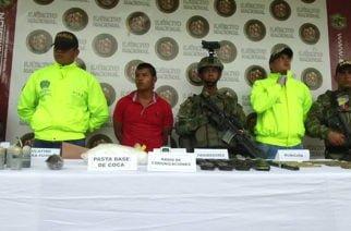 Ejército capturó a sujeto que proveía de armas y recursos a Los Caparrapos