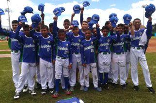 Córdoba sigue líder en Festival Nacional de Béisbol Sub 12