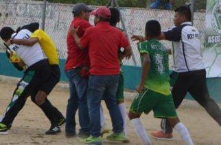 Con batalla campal y radicales sanciones terminó la participación de la escuela Rey Pelé en Festival de Fútbol realizado en Sincelejo
