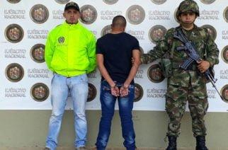 Ejército capturó cabecilla de 'Los Caparrapos' señalado de homicidios en el Bajo Cauca