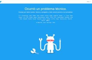 Twitter registra nueva caída