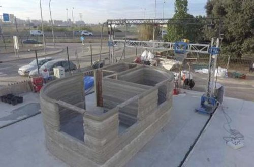 Construyen en España la primera casa con una impresora 3D