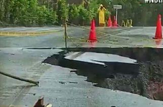 Precipitaciones imposibilitan trabajos de reconstrucción de la vía Caucasia- Tarazá