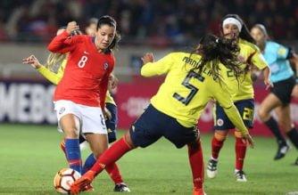 Colombia igualó con Chile en cuadrangular final de Copa América Femenina
