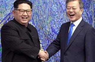 La paz se firma en Corea del Norte y Corea de Sur