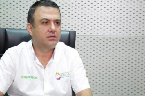 Procuraduría suspendió provisionalmente al gobernador de Córdoba, Edwin Besaile
